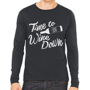 Wine Down Long Sleeve Shirt